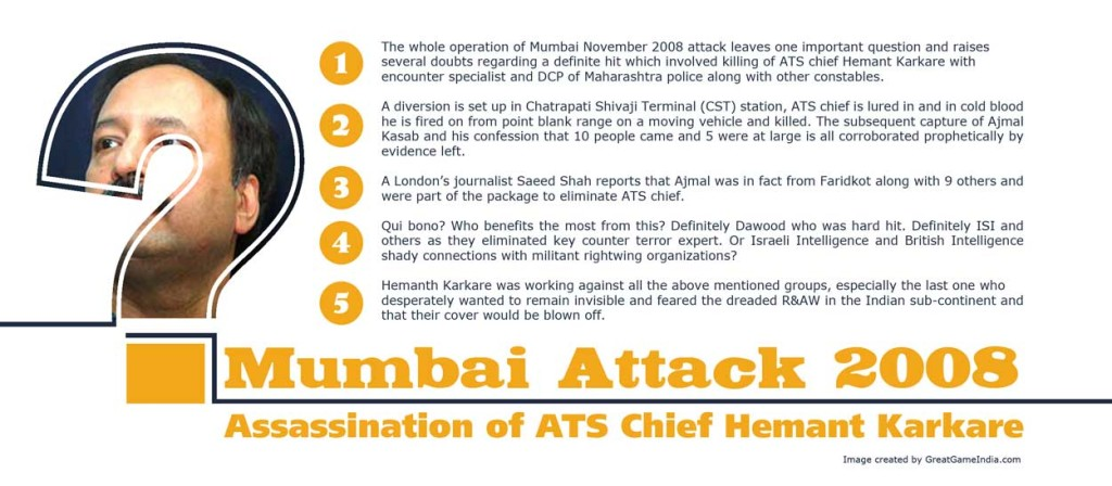 Mumbai Attack 2008 - Assassination of ATS Chief Hemant Karkare