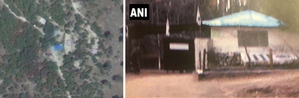 Balakot Airstrike Ground Satellite Imagery Comparisson
