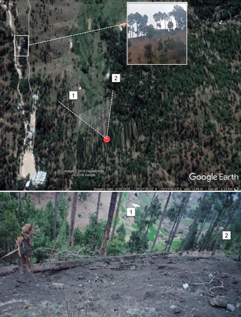 Balakot Airstrike Satellite And Ground Imagery Analysis