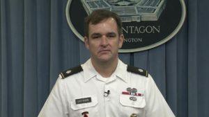 Pentagon spokesman Lieutenant Colonel Dave Eastburn