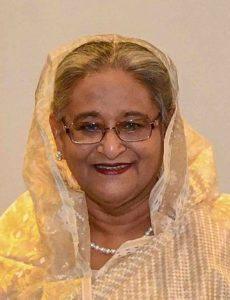 Prime Minister of Bangladeshi Sheikh Hasina