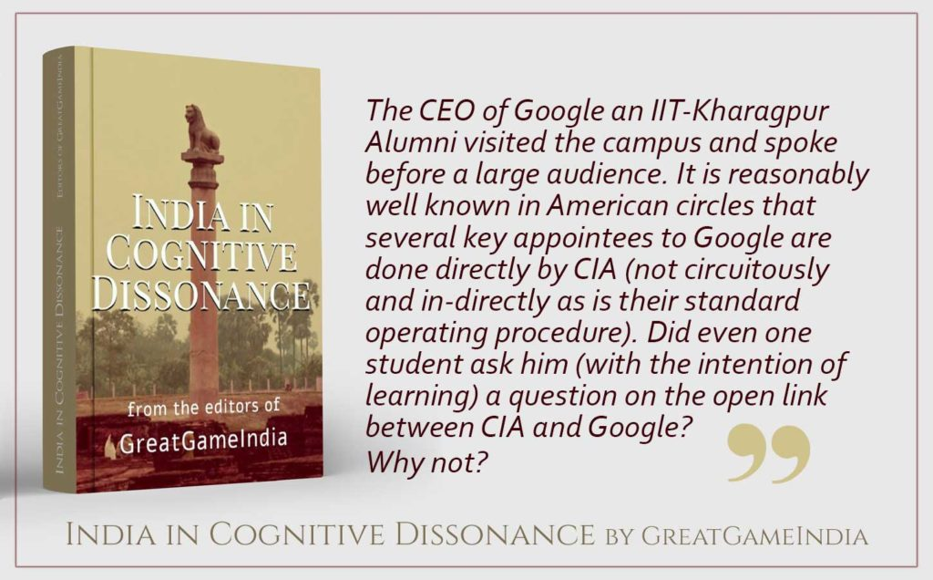 Excerpt from GreatGameIndia's exclusive book India in Cognitive Dissonance. Get your copy from here.