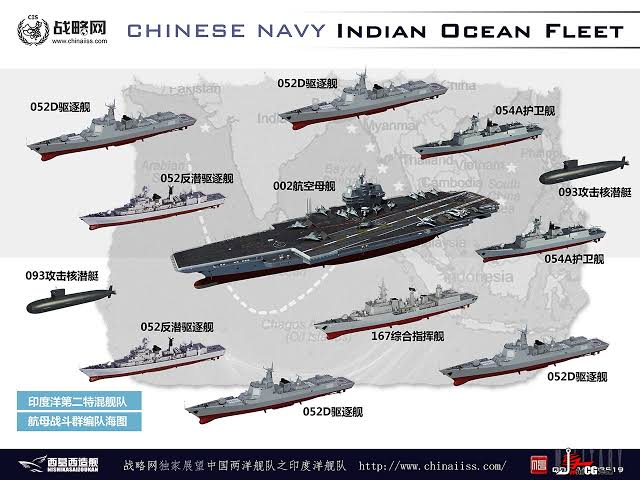 Chinese Navy Indian Ocean Fleet