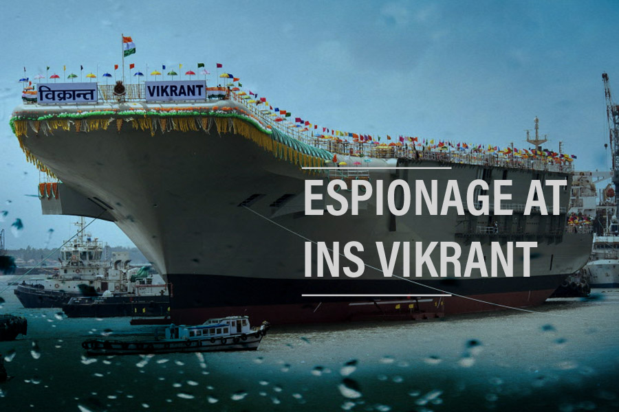 Espionage at INS Vikrant, India's first Indigenous Aircraft Carrier