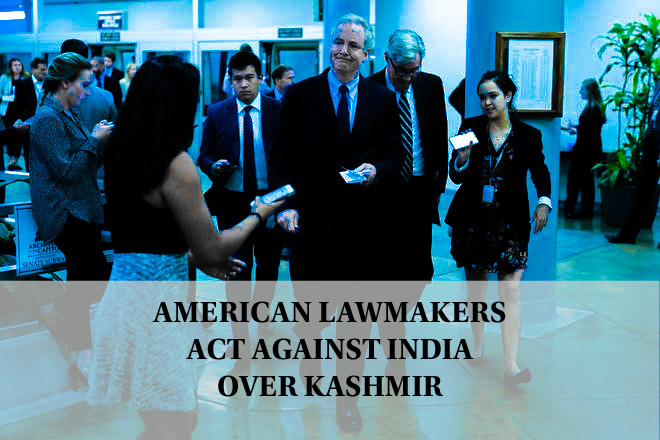 American Lawmakers act against India over Kashmir
