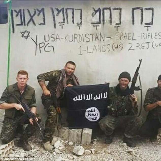 British Military Officer Joe Robinson with ISIS in Syria