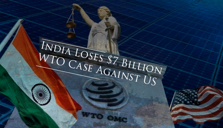 India loses $7 Billion WTO case against US