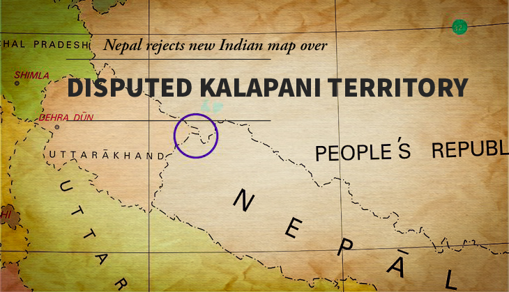 Nepal rejects new Indian map over Kalapani territory