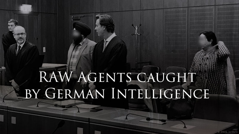 RAW Agents caught by German Intelligence