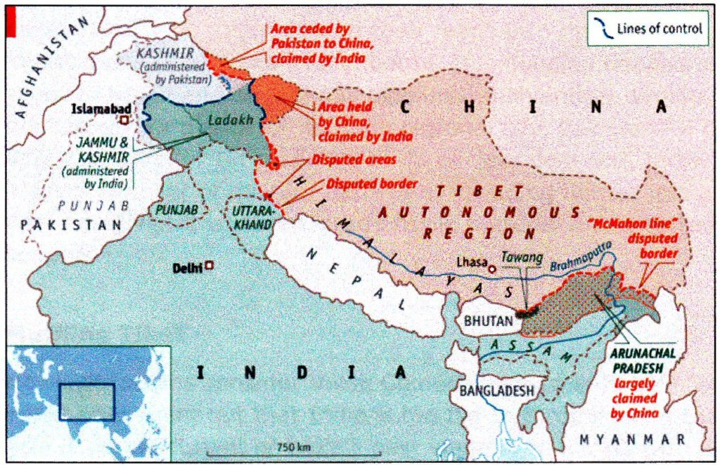 McMahon Line and Partition of India