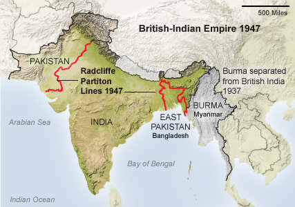 Radcliffe Line and Partition of India