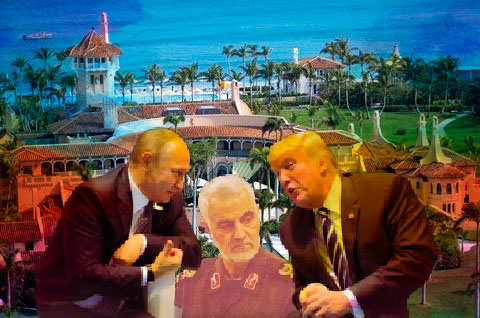Were Russians spying on Qassem Soleimani assassination discussions at Mar-a-Lago