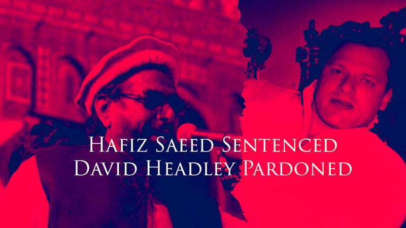 Hafiz Saeed Sentenced David Headley Pardoned
