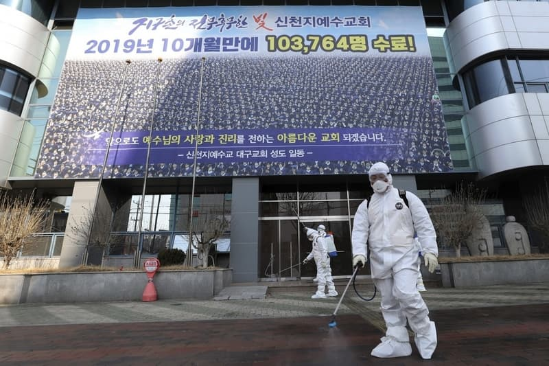 Shincheonji Church Of Jesus Linked To Coronavirus Outbreak In South Korea