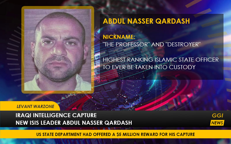 Abdul Nasser Qardash - Iraqi Intelligence Capture New ISIS Leader