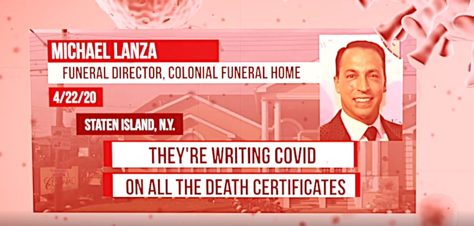 COVID-19 Deaths Certificates Scam Exposed By Funeral Home Directors
