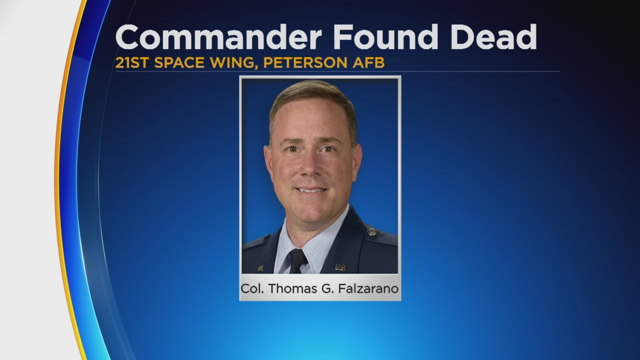 Col. Thomas Falzarano - US Space Force Commander Found Dead