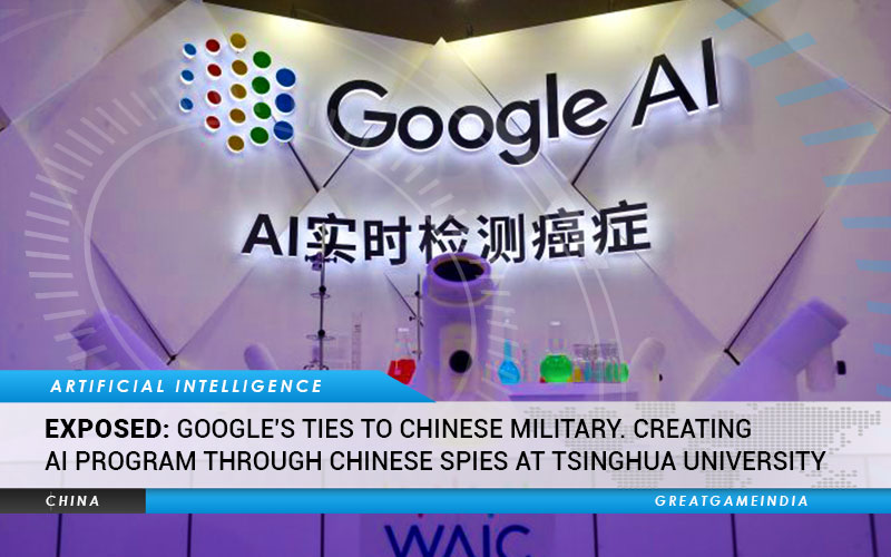 EXPOSED Google's Ties To Chinese Military