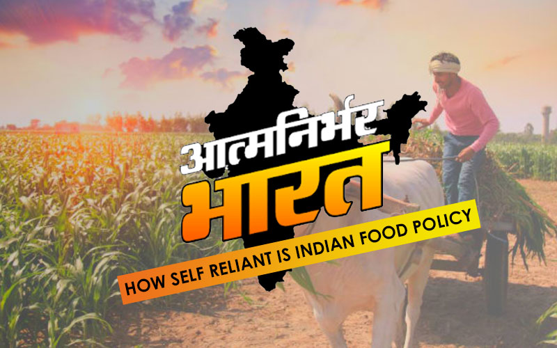 How Self Reliant Is Indian Food Policy