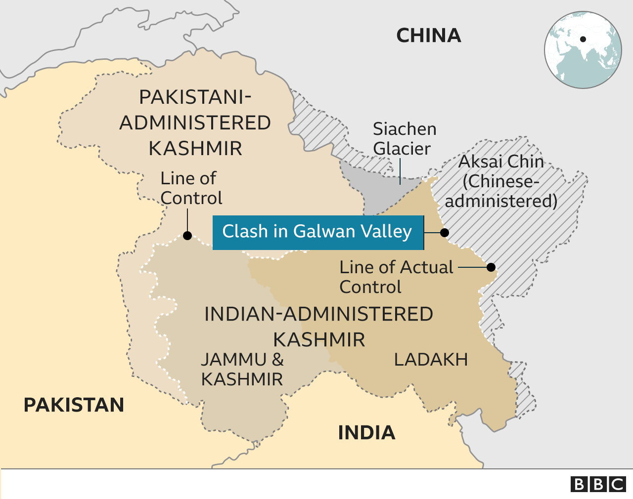 India China clash at Galwan Valley in Ladakh