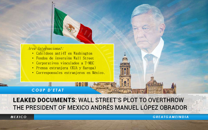 Leaked documents Wall Street's Plot To Overthrow Mexico