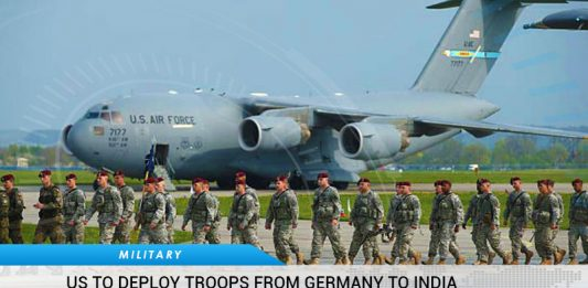 US To Deploy Troops From Germany To India