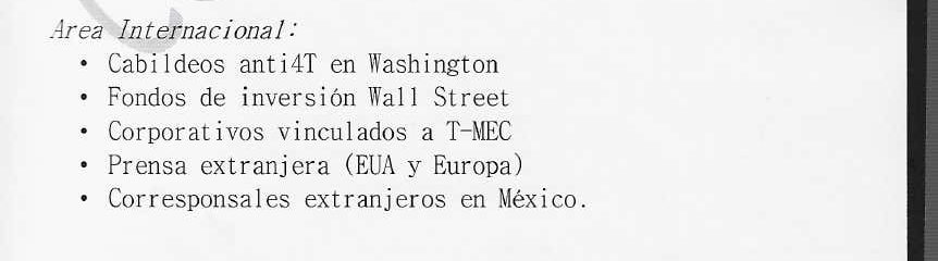 Wall Street funds plot to overthrow Mexico