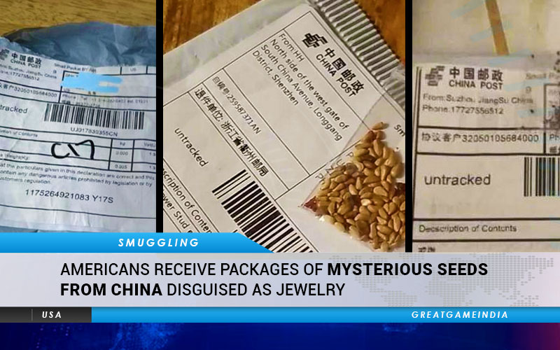 Americans Receive Packages Of Mysterious Seeds From China Disguised As Jewelry