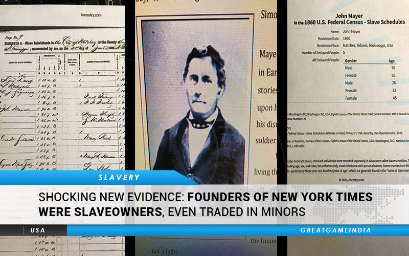 Founders New York Times Slaveowners