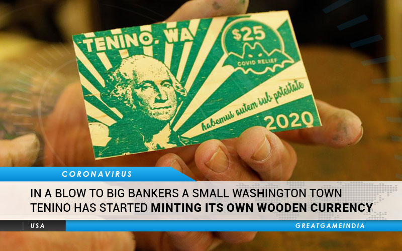 In A Blow To Big Bankers A Small Washington Town Tenino Started Minting Its Own Wooden Currency