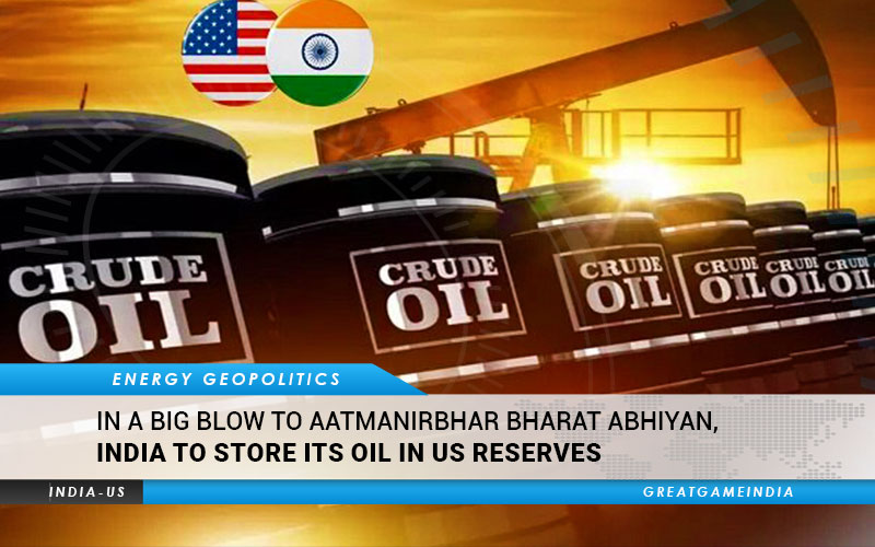 India Store Oil Us Reserves