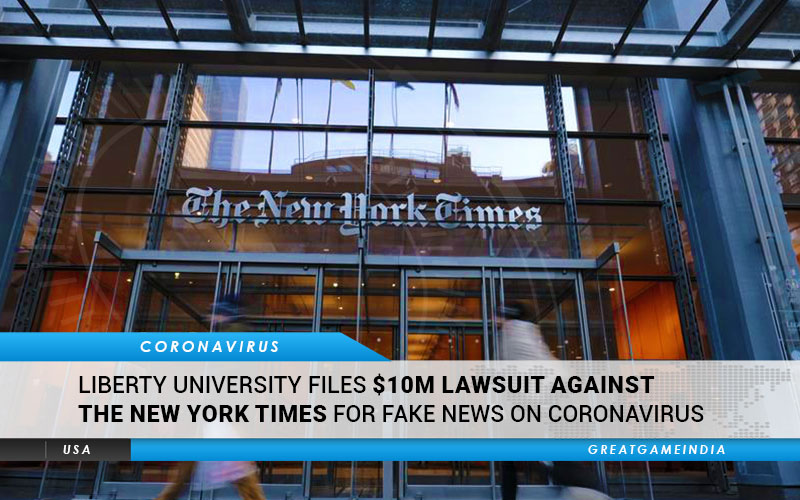 Liberty University Files $10M Lawsuit Against The New York Times For Fake News On Coronavirus