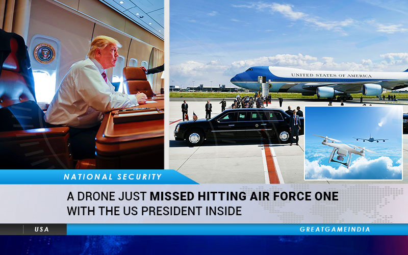 A Drone Just Missed Hitting Air Force One With US President Inside