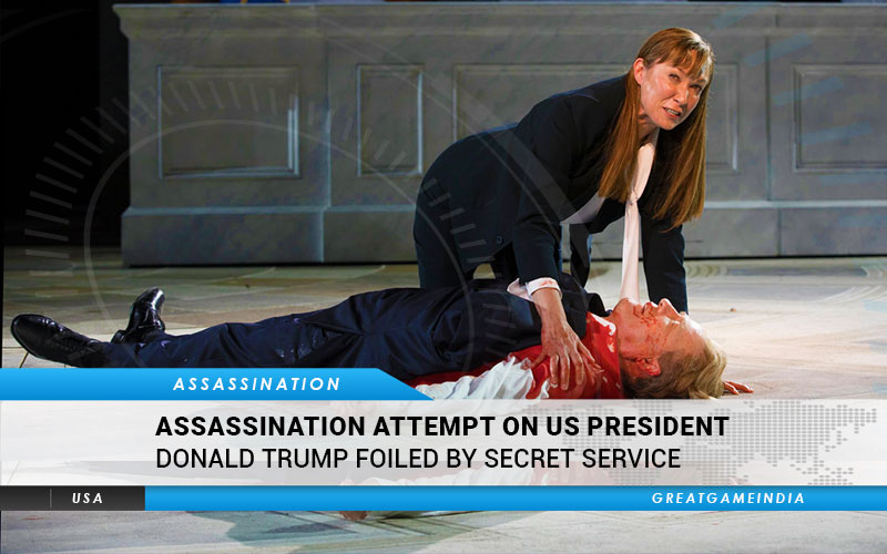 Assassination attempt on Donald Trump Foiled by Secret Service