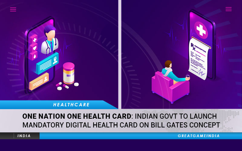 Indian Govt To Launch Mandatory Digital Health Card On Bill Gates Concept