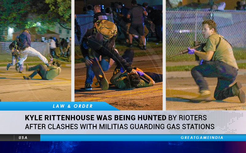 Rittenhouse After Hunted Being Was Kyle  Rioters By Clashes