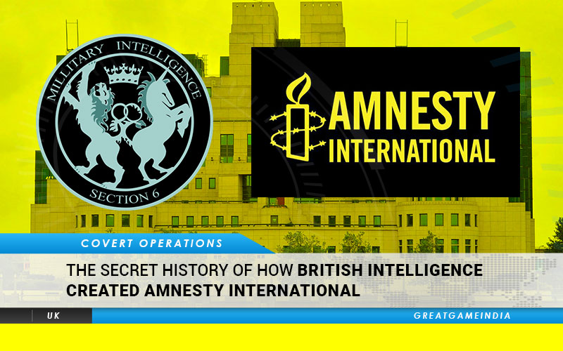 The Secret History Of How British Intelligence Created Amnesty International