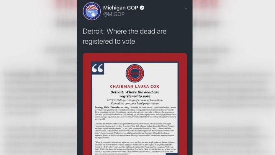 2500 Zombies Registered To Vote In Detroit, US Elections