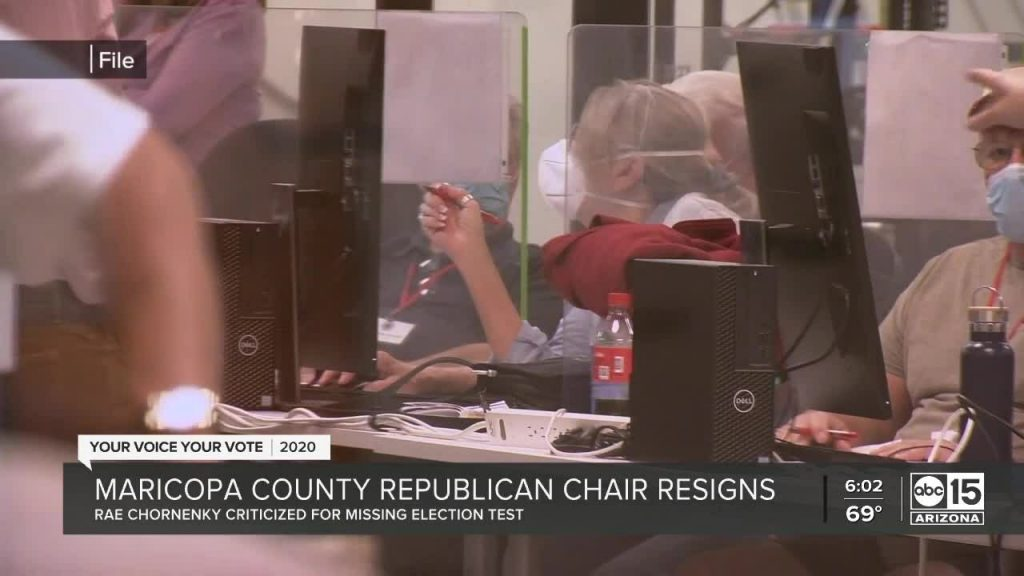 Maricopa County Chair Rae Chornenky Resigns For Not Attending Voting Machine Test