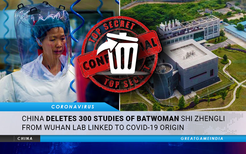 China Deletes 300 Studies Of Batwoman Shi Zhengli From Wuhan Lab Linked to COVID-19 Origin