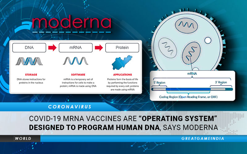 Experimental COVID-19 mRNA Vaccines Are Operating System Designed To Program Human DNA, Says Moderna