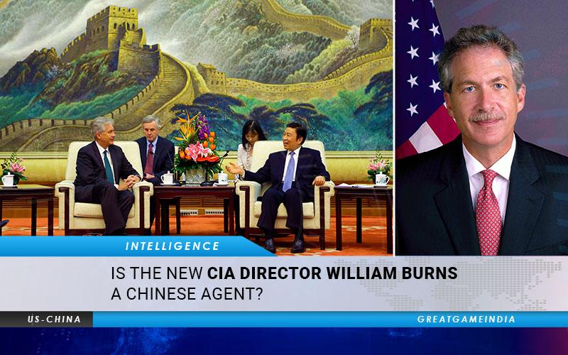 O novo diretor da CIA William Burns é um agente chinês