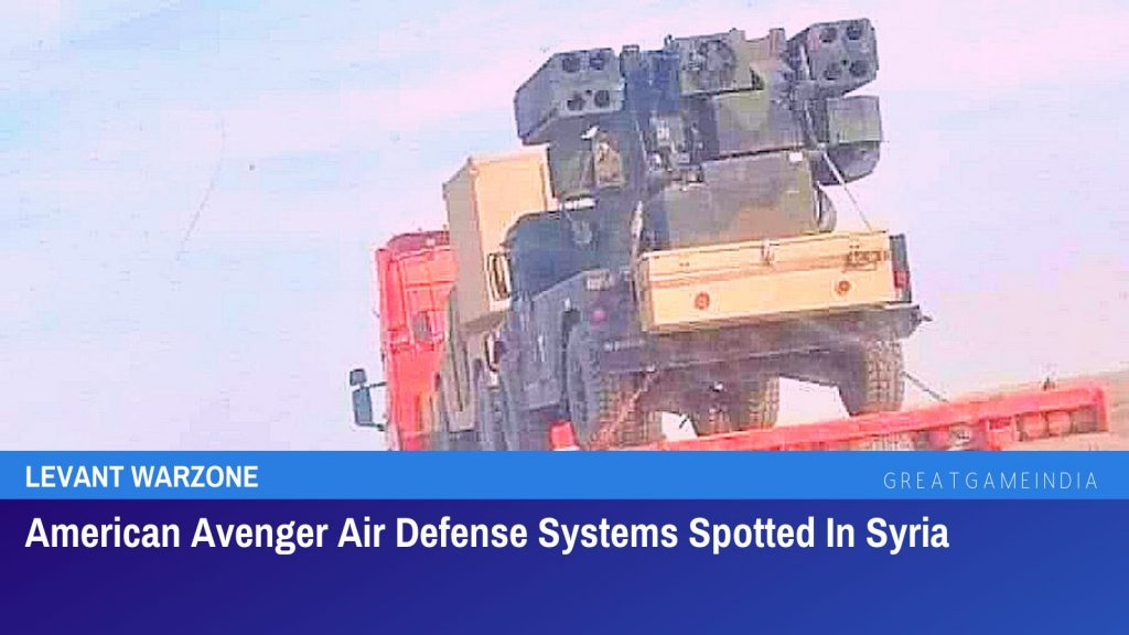 American Avenger Air Defense Systems Spotted In Syria