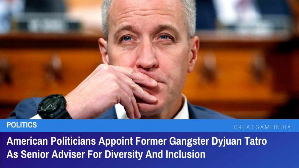 American Politicians Appoint Former Gangster Dyjuan Tatro As Senior Adviser For Diversity And Inclusion