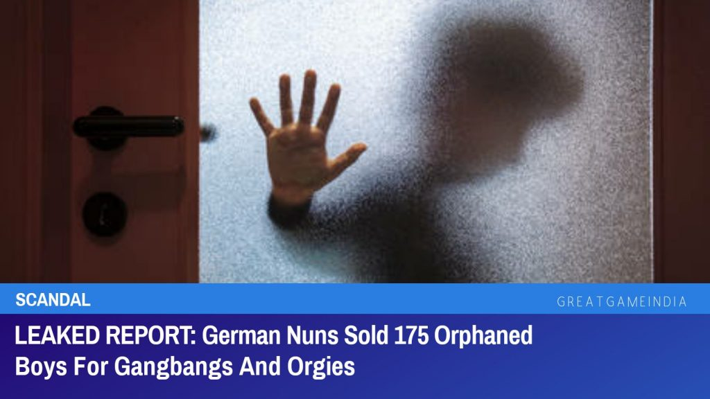 German Nuns Sold 175 Orphaned Boys For Gangbangs And Orgies